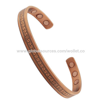 Wholesale Bio Magnetic Therapy Products Bangle Made of Copper