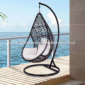 Chinape Rattan Egg Shaped Hanging Chair With Steel Frame On Global Sources
