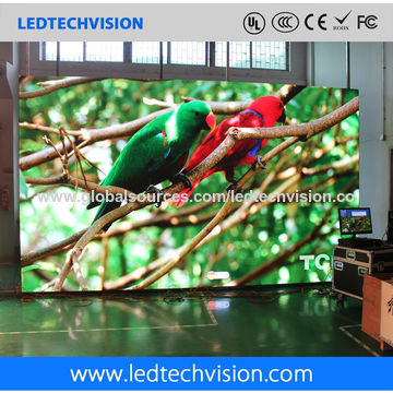 China LED Display Manufacturer, P2.5mm HD Indoor LED Video Wall Screen for Advertising
