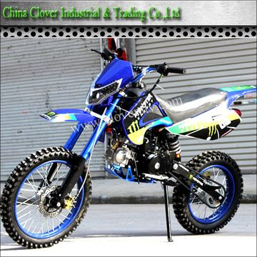 110cc 125cc Dirt Bike 4 Stroke Engine Type Adults Motorcycle For