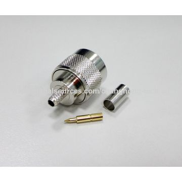 Taiwan Coaxial N type Connector PLUG CRIMP from Annan District