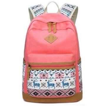 53cebe4e9 ... China Hot selling pretty canvas backpack, fashion children school bags  2019 ...