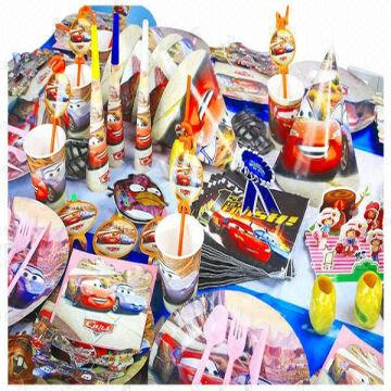 China 2014 Anime Birthday Party Supplies 114 Items In A Set Included 2CESGS 3