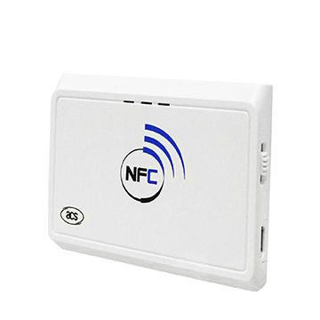 China Bluetooth Handheld NFC Smart Card Reader support ISO 14443