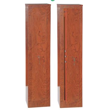 China Fingerprint Gun Safes, Wood Grain Color, 1,450 x 350 x 300mm, 3+2 Lock Bolts