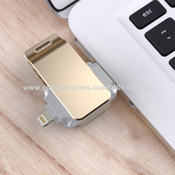 China [MFi CERTIFIED] For Apple iOS Memory Stick Expansion iPhone iPad iPad Lightnin USB Flash Drive