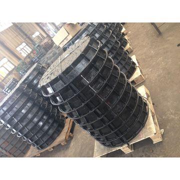 China Manhole covers EN124 B125 C250 D400 E600 F900