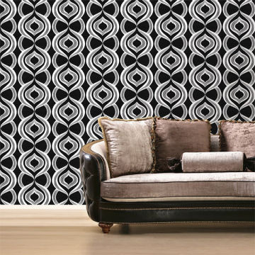 PVC Deep Embossed Modern Decorative Wallpaper China