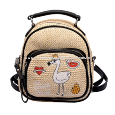 fd6136db7644 China New Style High Quality Jute backpack purses from Wenzhou ...