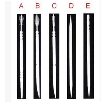 China White Patent Eco Friendly Plastic Dental Floss Party Toothpicks Bulk