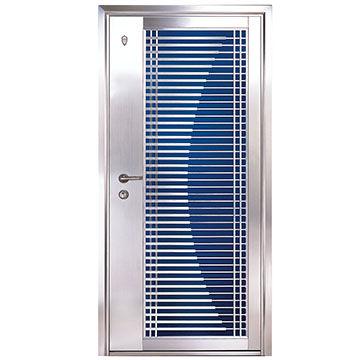 304 stainless steel security door with beautiful design