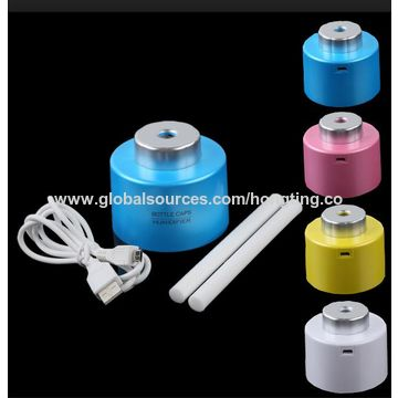 China Bottle cap cool mist portable USB humidifier