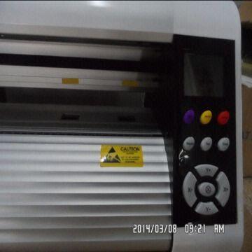 High quality 1 2m large flatbed vinyl printer plotter cutter