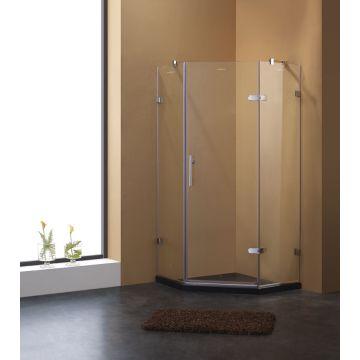 Diamond hinge door shower enclosure | Global Sources