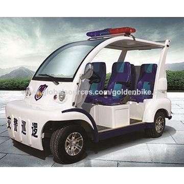 China 4 wheels electric patrol car from Tianjin Wholesaler: Tianjin
