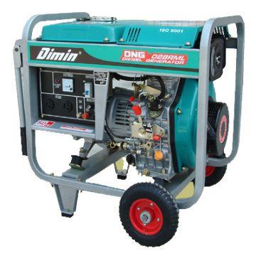 Portable Diesel Generator CE EPA certified Max Output 3kw 50HZ 3 6kw