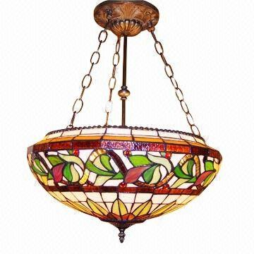 Tiffany Ceiling Lamp Available In Various Styles Global