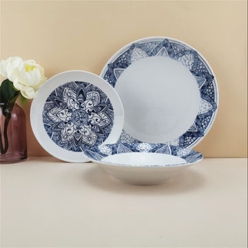 China High Quality Porcelain Ceramic Plate Dish Dinnerware Set Pad Printing With 10 5 7 5 Side Plate On Global Sources