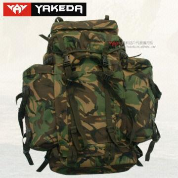 Desert Military webbing backpack bag/army military backpack bag ...