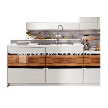 Modern Design Commercial Cheap Price Mdf Kitchen Sets Self