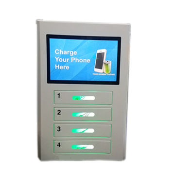 China 4 Bay Wall Mounted Cell Phone Charging Station For Event On Global Sources Cell Phone Charging Kiosk Mobile Charger Vending Machine Event Charging Station