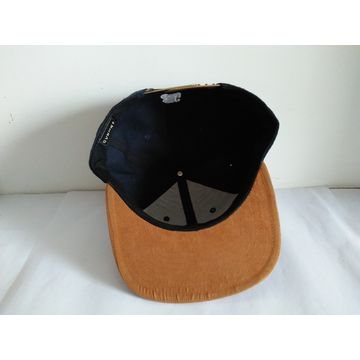 2f3a15f62fd China 6-panel suede brim snapback cap from Dongguan Trading Company ...