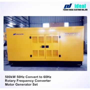350kw 50Hz to 60Hz Electric Rotary Frequency Converter