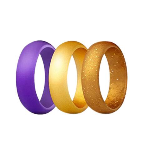 Silicon Wedding Rings.Fashion Silicone Wedding Ring