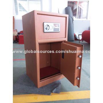 China Deluxe beauty office safe box, fabulous furniture and high security, with L handle, LCD display
