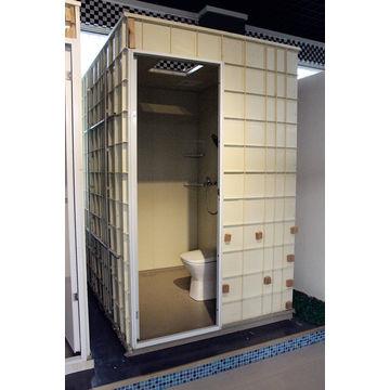 SMC unit bathroom pod shower toilet prefab modular china ...