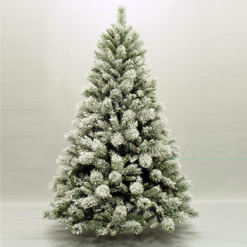 China 6FT Flocked Christmas Tree with Snowflake on Global Sources