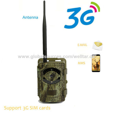 China Wholesale outdoor IP66 remote alarm safety message digital SMS hunting trail camera with 3G network