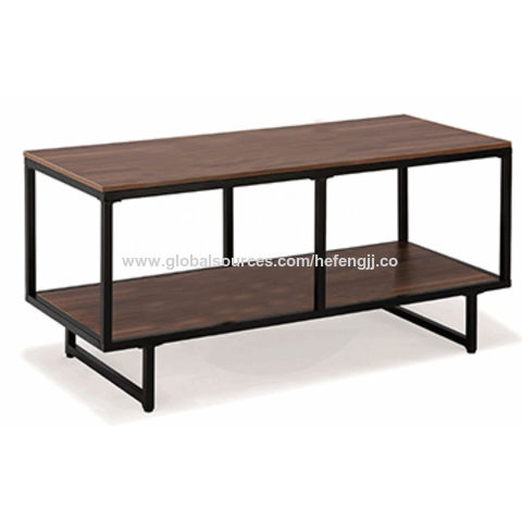 ... China Modern MDF Wooden Metal Frame TV Stands For Home