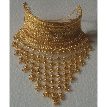 ... India Gold-plated necklace jewellery set maker, gold-plated necklace jewellery set exporter ...