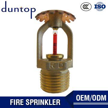 UL Listed Fire Sprinkler System Glass Bulb Upright Fire