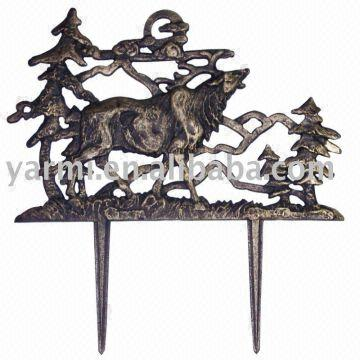 Cast Iron Animal Garden Fence 1gift Crafts 2antique Design 3