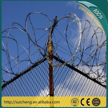 Razor Barbed Wire/Barbed Wire Price Per Roll/Weight of Barbed Wire ...