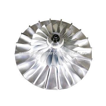 China Machining/casting precision aluminum turbine blade