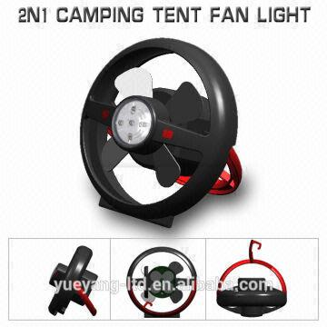 China Newest rechargeable outdoor c&ing light and fan/2 in 1 tent fan with light  sc 1 st  Global Sources & Newest rechargeable outdoor camping light and fan/2 in 1 tent fan ...
