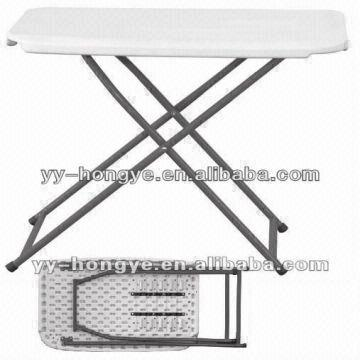 ... China White Plastic Adjastable Folding Table Small Table Lift Table