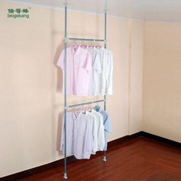 clothes hanging bar cloth rack diy coat rack KS10 Global Sources