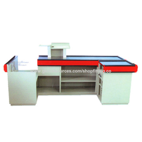 China Shop Counter Table Design Checkout Counters Used In