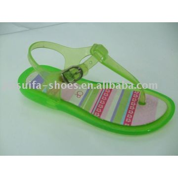0030337cca0 ... China Girls  New Pvc Jelly Sandals