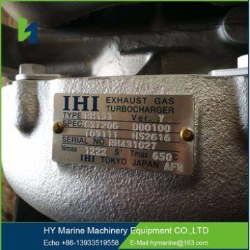 JAPAN IHI RH133-Y Turbocharger for YANMAR 6N18L ship engine