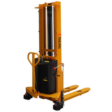 China 1500kg Semi Electric Stacker from Wuxi Manufacturer: Wuxi