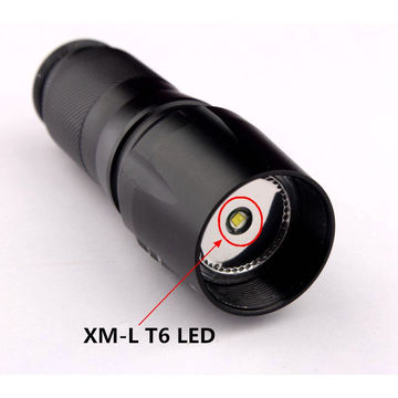 Small Sun 2000 Lumen CREE XML T6 led Portable Zoomable