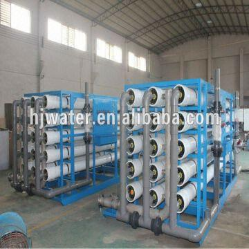water treatment equipment: 1  97% Desalination Rate  2  75