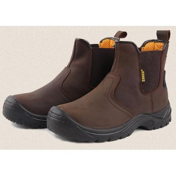 fd8f64db5d1a ... China Men s winter breathable steel toe cap anti slip safety work shoes  tooling ankle boots ...