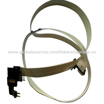 Dampproof automobile airbag wiring harness on