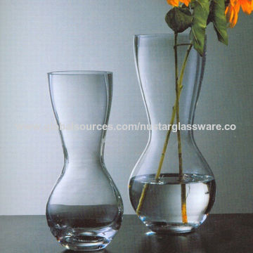 China Clear Glass Flower Vases From Qingdao Wholesaler Qingdao